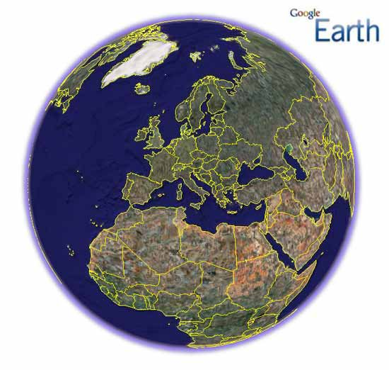 Скриншот к файлу: Google Earth  6.0.1.2032 Free