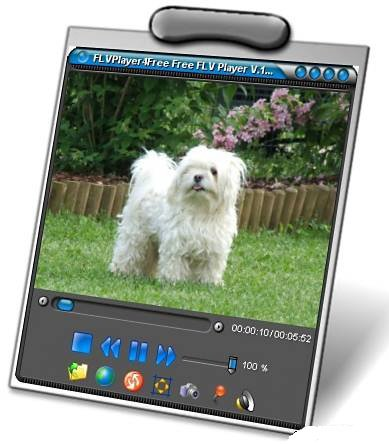 Скриншот к файлу: FLVPlayer4Free  3.8.0.0