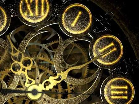 Скриншот к файлу: Mechanical Clock 3D Screensaver  1.1