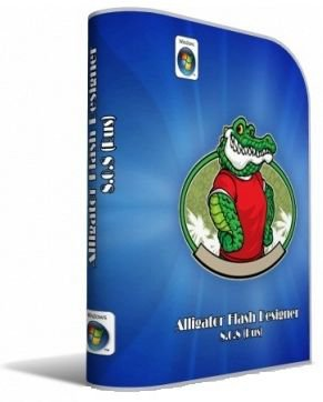 Скриншот к файлу: Alligator Flash Designer  8.0.12