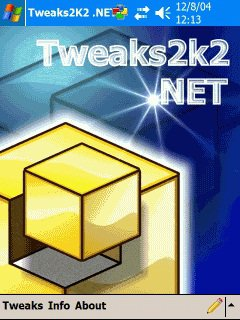 Скриншот к файлу: Tweaks2K2 NET for ARM & XScale  3.31.0.1