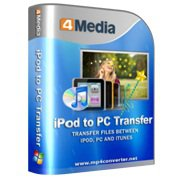 Скриншот к файлу: 4Media iPod to PC Transfer  2.1.4