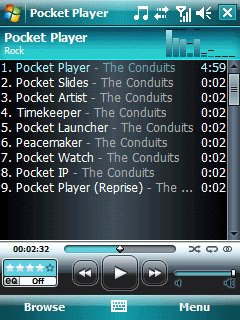 Скриншот к файлу: Pocket Player  4.2