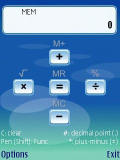 Скриншот к файлу: Handy Calculator  1.01