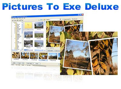 Скриншот к файлу: PicturesToExe Deluxe  6.5