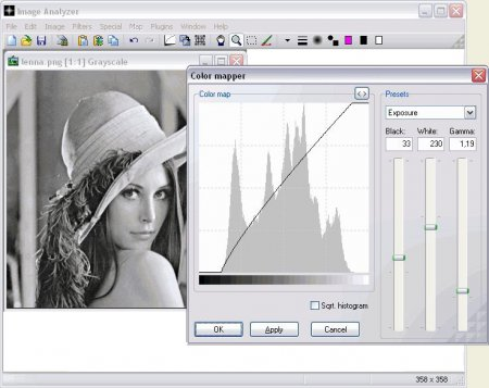 Скриншот к файлу: Image Analyzer 1.32
