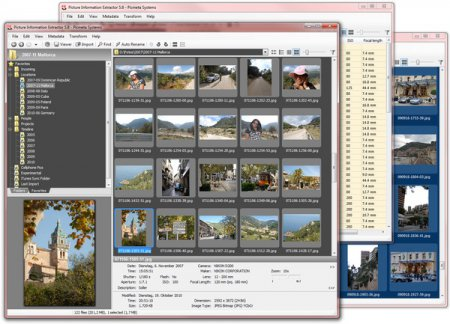 Скриншот к файлу: Picture Information Extractor  5.5