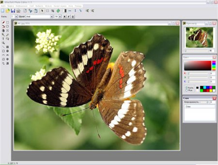 Скриншот к файлу: Altarsoft Photo Editor  1.5