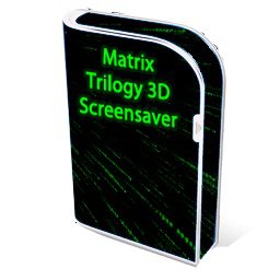 Скриншот к файлу: The Matrix 3D Screensaver  3.4