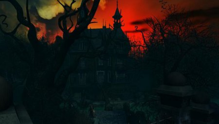 Скриншот к файлу: Haunted House 3D Screensaver 1.1