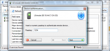 Medieval Bluetooth Network Scanner  1.4