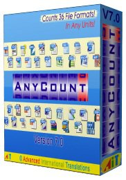 Скриншот к файлу: AnyCount: Word Count and Line Count  7