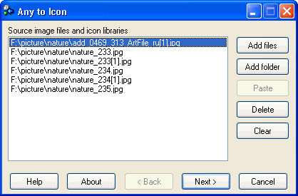 Скриншот к файлу: Any to Icon 3.40
