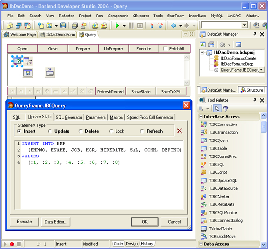 Скриншот к файлу: InterBase Data Access Components 3.10.0.7