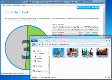 Internet Explorer 10 Platform Preview 4