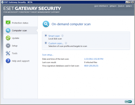 ESET Gateway Security 4.5