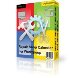 Скриншот к файлу: Repair Shop Calendar for Workgroup 3.7