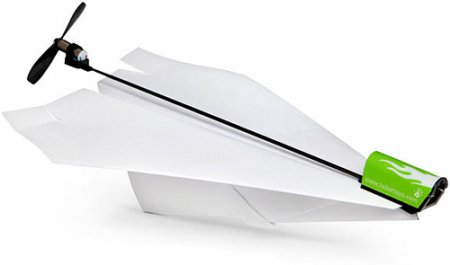 Скриншот к файлу: Electric Paper Airplane Conversion Kit