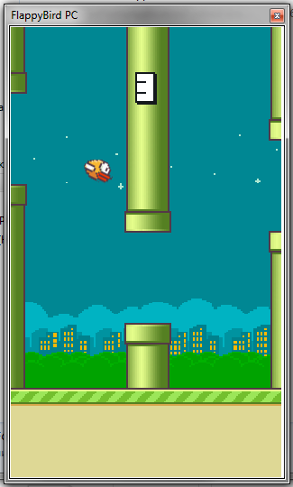 Скриншот к файлу: FlappyBird for PC