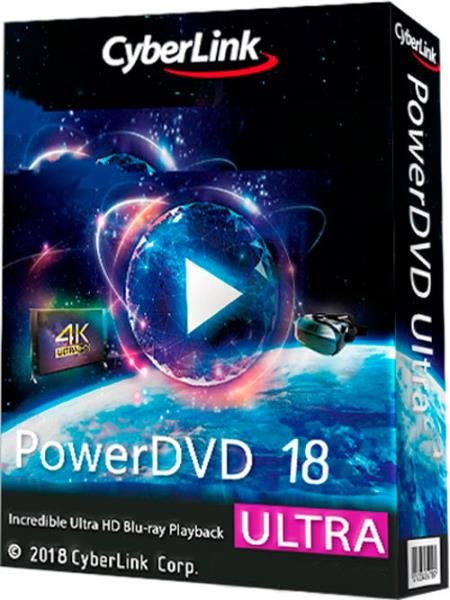 Скриншот к файлу: CyberLink PowerDVD Ultra 18.0.1619.62 (2018)